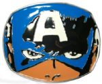Captain America Belt Buckle with display stand - Officially Licensed